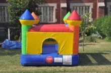 Indoor/Outdoor Mini Rainbow Bouncer